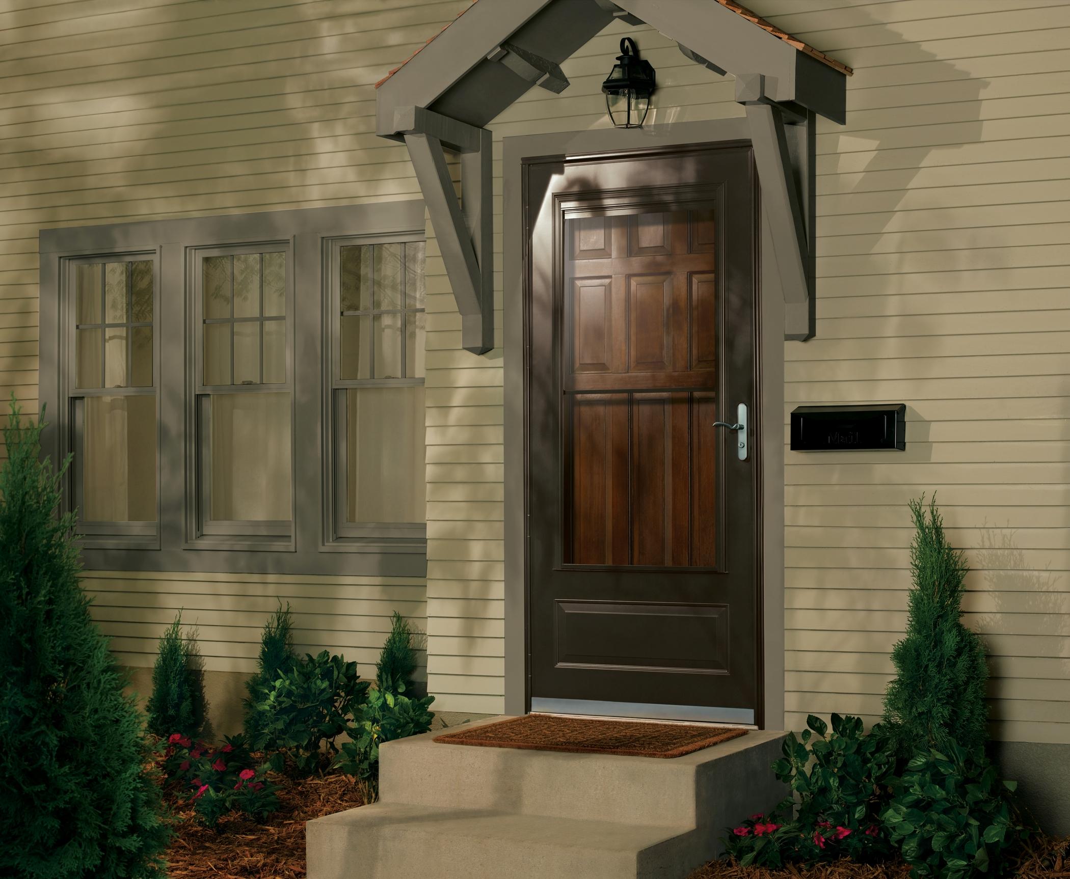 Glass storm doors home emco storm door 3rd glass terratone eventelaan Image collections