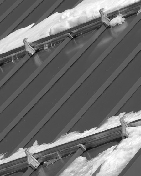 ... Snow Rail On Metal Roofing ...
