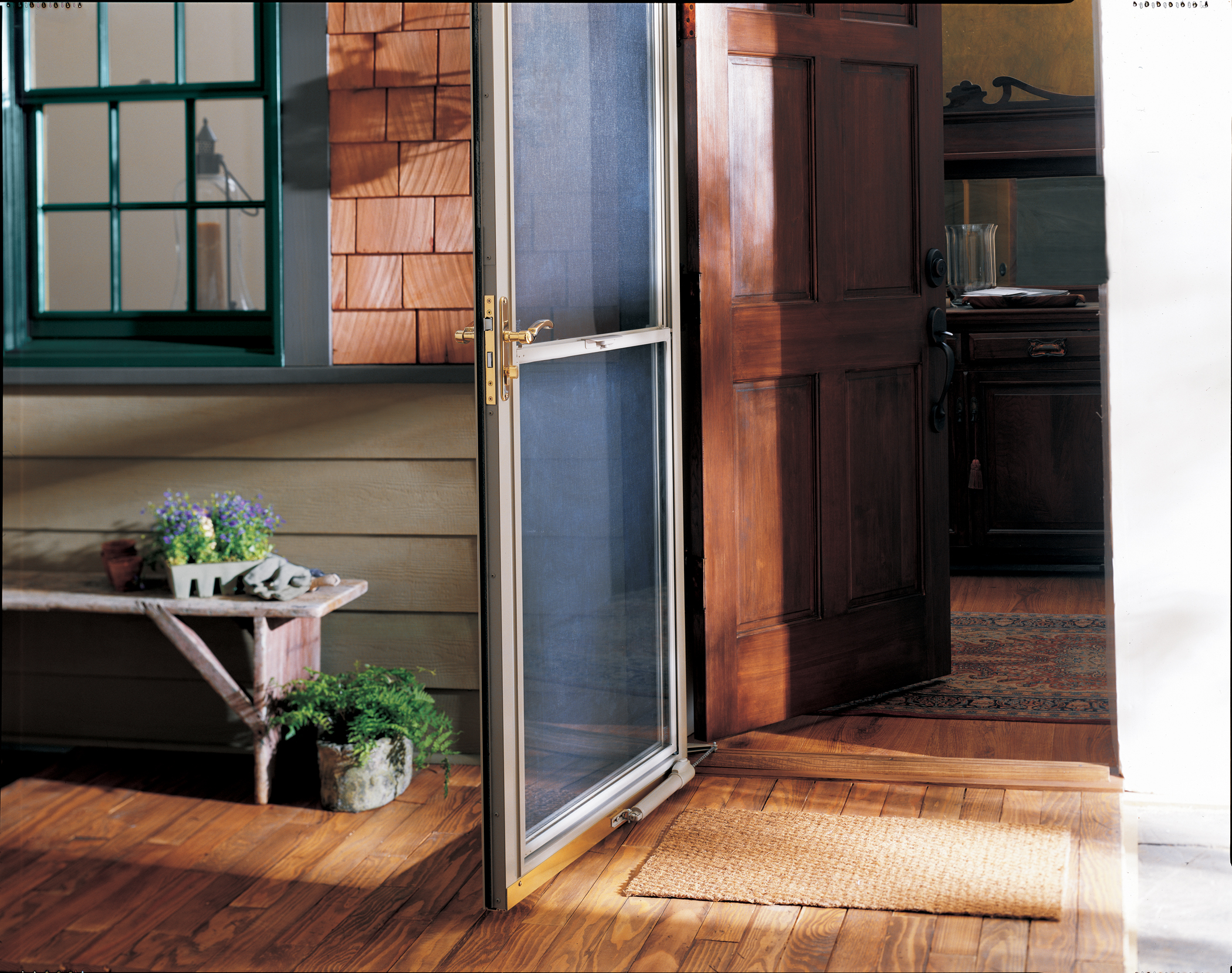 Lehigh Gap Lehigh Valley Storm Doors Low E Glass Options