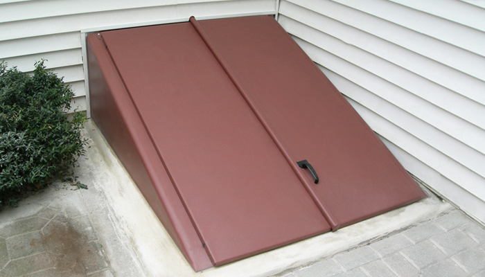 Lehigh gap lehigh valley basement door cellar door for Exterior basement access doors